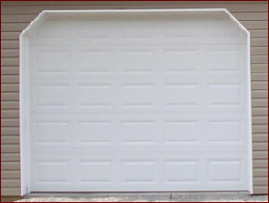 Insulated and non-insulated garage doors