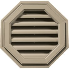 Octagon Vents Building Accessories