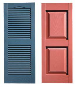 Shutters Building Accessories